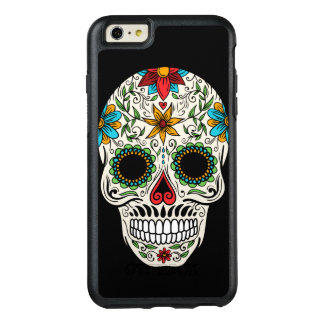 Crâne mort de sucre de jour coque OtterBox iPhone 6 et 6s plus