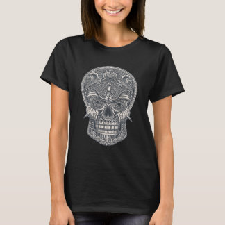 Crâne mortel d'amour t-shirt