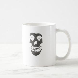 Crâne Mug Blanc