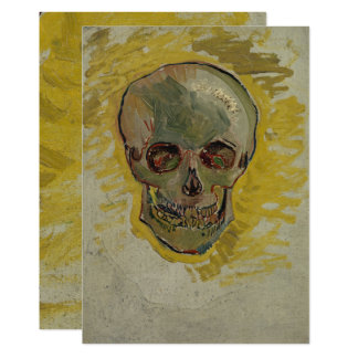 Crâne par Vincent van Gogh GalleryHD Carton D'invitation 12,7 Cm X 17,78 Cm