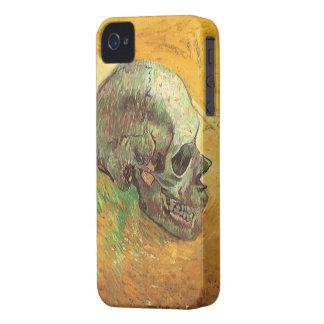Crâne par Vincent van Gogh, impressionisme vintage Coques iPhone 4 Case-Mate