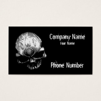 Crâne principal de vitesse cartes de visite