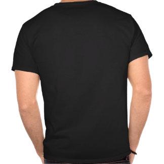 Crâne proscrit de cerfs communs d'établissements t-shirts