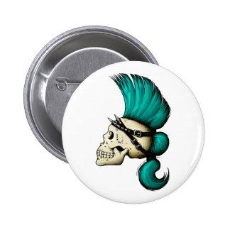 Crâne punk pin's