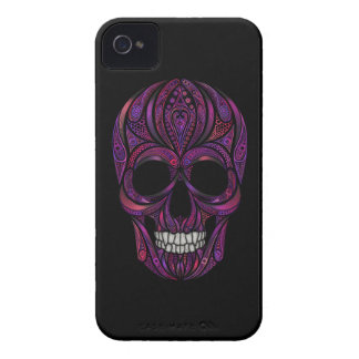 Crâne rose coques Case-Mate iPhone 4