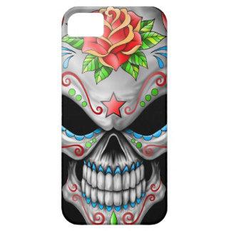 Crâne rose de sucre de mal étui iPhone 5
