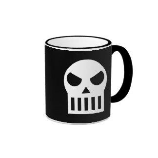Crâne simple mug ringer