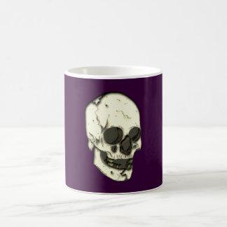 Crâne tête de mort skull mug blanc