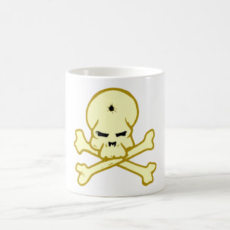 Crâne tête de mort skull tasses à café