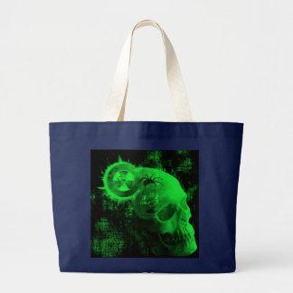 crâne toxique grand sac