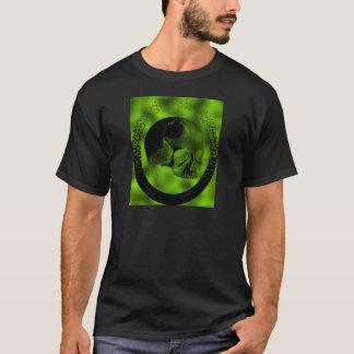 Crâne vert t-shirt