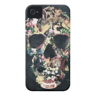 Crâne vintage coques iPhone 4 Case-Mate