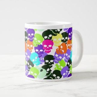 Crânes colorés mug jumbo