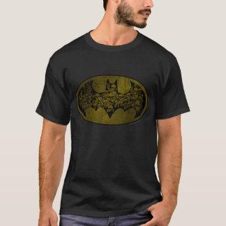 Crânes du symbole | de Batman dans le logo de T-shirt