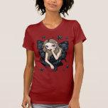 Crânes et chemise féerique gothique d'étoiles t-shirt
