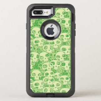 Crânes frais coque otterbox defender pour iPhone 7 plus