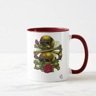 Crânes, Webs, et tasse de roses