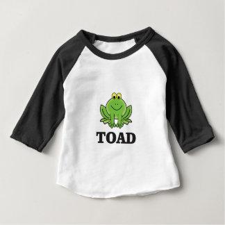 crapaud de bande dessinée ouais t-shirt pour bébé
