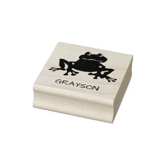 Crapaud mignon personnalisé de grenouille