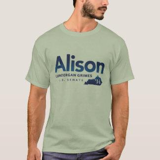 Crasses d'Alison Lundergan pour le sénat 2014 des T-shirt