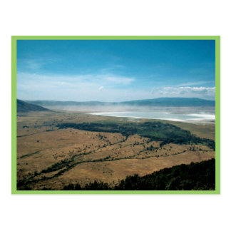Cratère de Ngorongoro Carte Postale