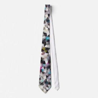 Cravate 50-1 géométrique d'aquarelle