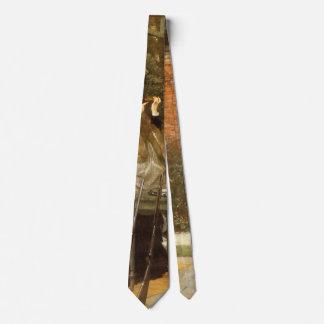 Cravate À la chaîne de fusil par James Tissot, art vintage