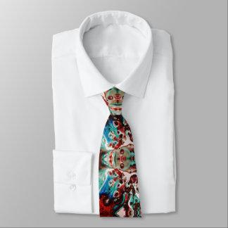 Cravate abstraite pour les hommes