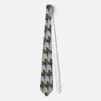 Cravate Affaires vintages, pétrole de jaillissement puits