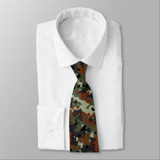 Cravate Allemand Flecktarn Camo