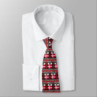 Cravate américaine danoise de la Californie