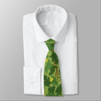 Cravate américaine de Camo de vert de feuille