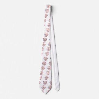 Cravate Amour Pomeranians de paix
