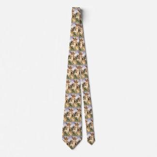 Cravate Anges vintages, retour de ressort par Bouguereau