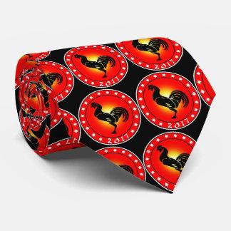 Cravate Année du coq 2017