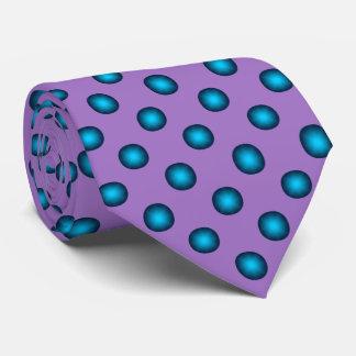 Cravate Arrière - plan bleu élégant de lavande du point de