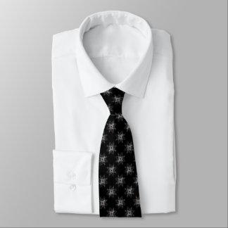 Cravate Art croisé rose de Goth