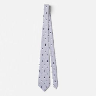 Cravate Autoneige-Modelée par bleu