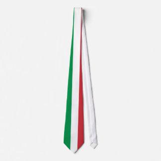 Cravate avec le drapeau de l'Italie