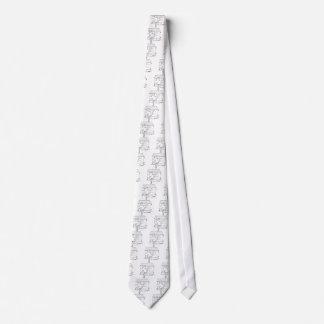 Cravate Bande dessinée 6475 de chiroprakteur