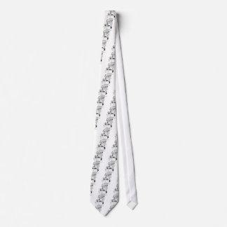 Cravate Bande dessinée 8590 de chauffage