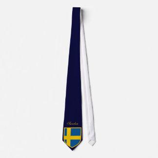 Cravate Beau drapeau de la Suède