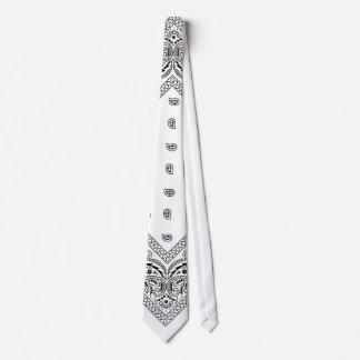 Cravate blanche 2 de Bandana