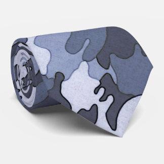 Cravate bleue de Camo