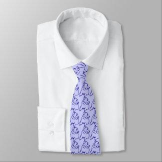 Cravate bleue de chien