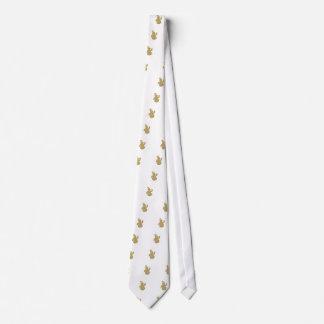 Cravate bonhomme de neige
