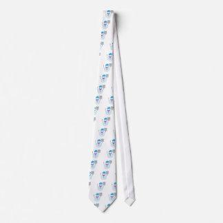 Cravate Bonhomme de neige potelé