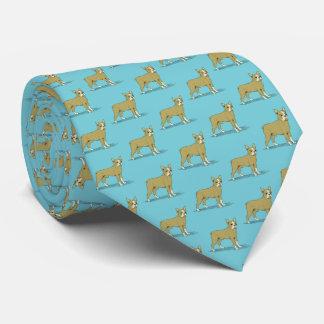 Cravate Bouledogue français stylisé C de cru