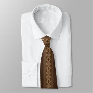 Cravate Buffalo dépiste Brown