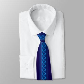 Cravate Buffalo dépiste le bleu